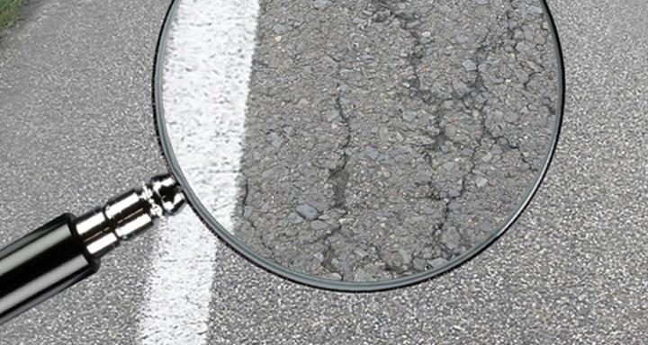 Visuele inspectie van wegen
